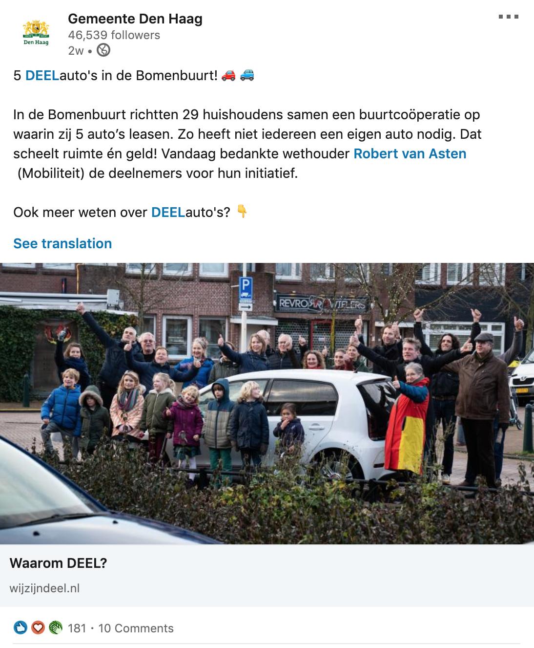 Gemeente Den Haag DEEL