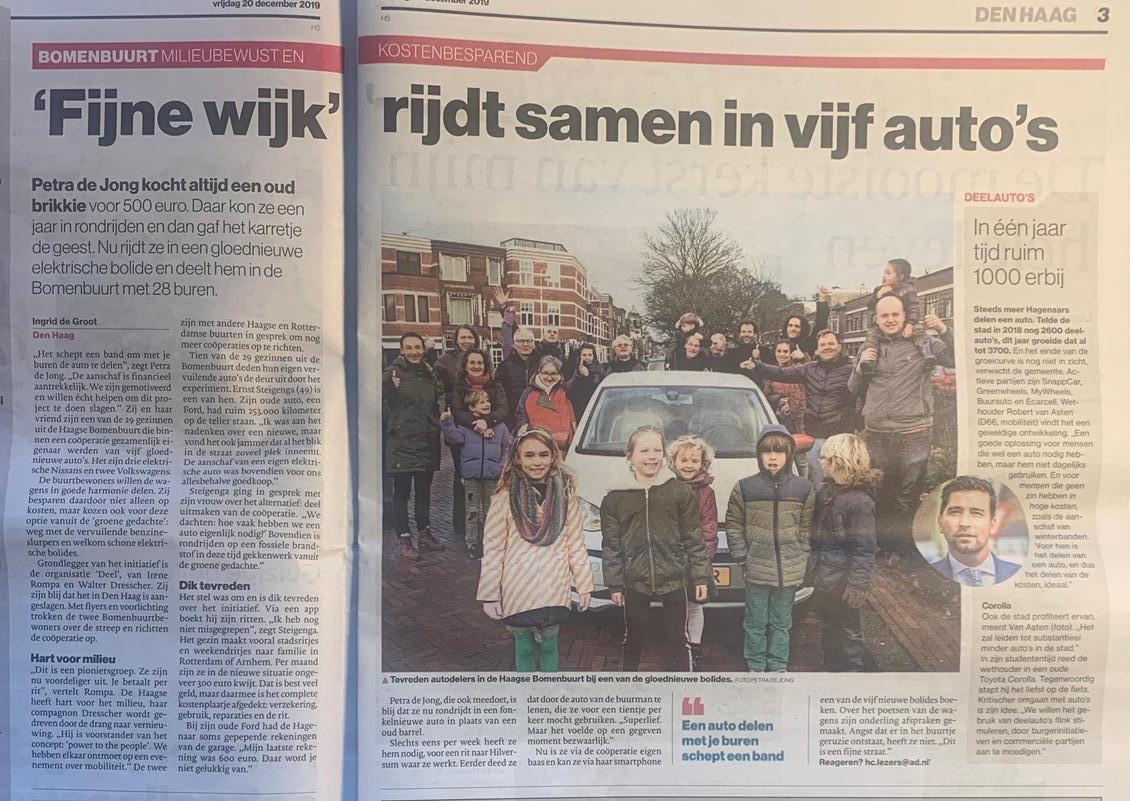 DEEL in Algemeen Dagblad